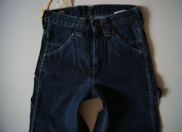 Roz. 140 cm 10 lat Lee Nowe Spodnie Jeans model Wesley Zip Flay