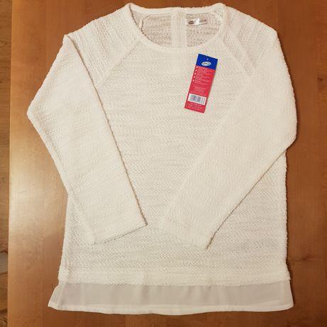 Elegancka bluzka dziewczęca na różne okazje r. 134/140 NOWA!