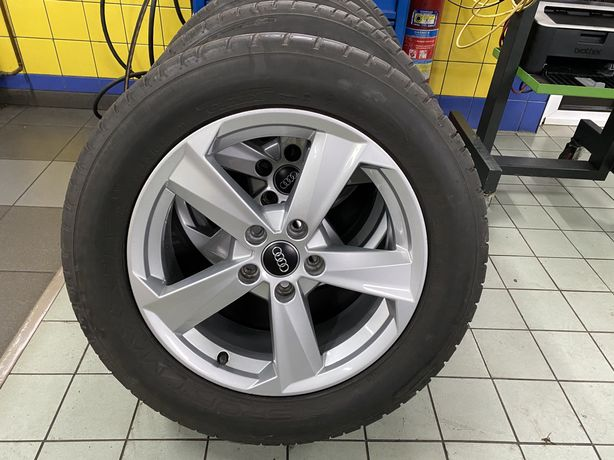 "Koła felgi 17"" do Audi A3,Q3,Q5 z oponami letnimi Dunlop 235/55/17 99V"