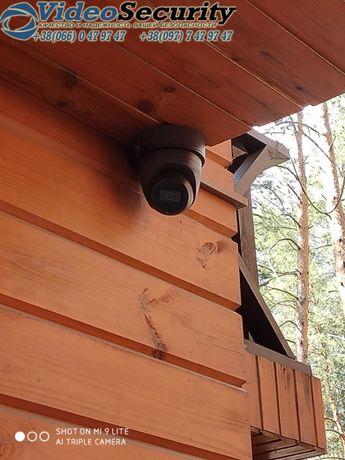 Установка видеонаблюдения, домофонов, сигнализации, СКД