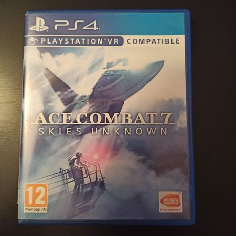 Gra Ace Combat 7 Skies Unknown PL PS4 playstation VR