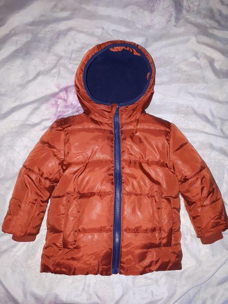 Продам детскую теплую куртку!