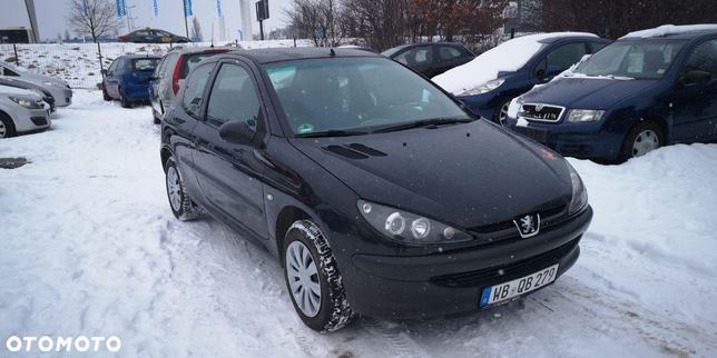 Peugeot 206 1.1 Zwykła Benzyna, Bez Rdzy