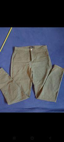 Spodnie khaki Sinsay 42