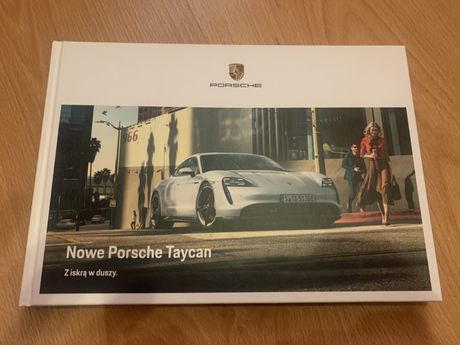 Prospekt Porsche Tycan
