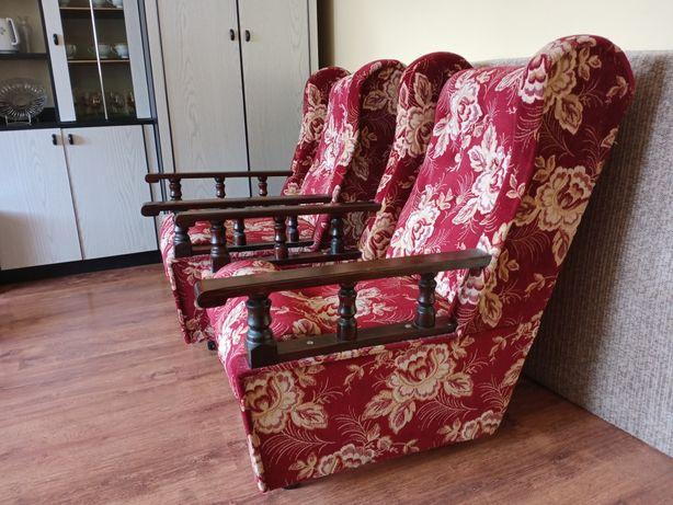 Fotele PRL stan idealny