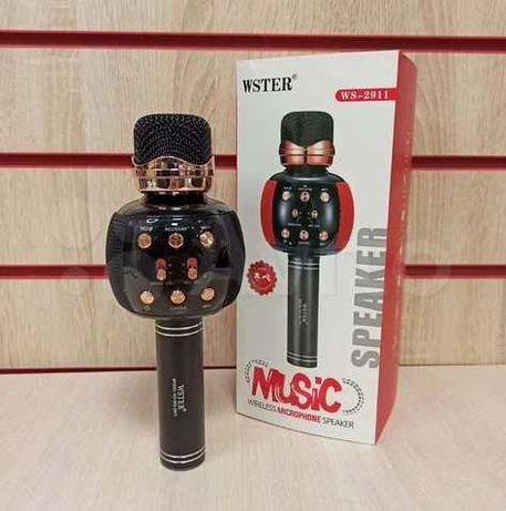 Новый Караоке микрофон Ws2911 - Беспроводной Wster 1500 mAh