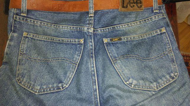 Настоящие винтажные ретро джинсы Lee Ranger времен СССР.