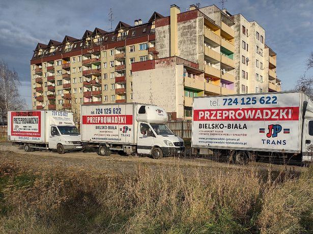 Przeprowadzki Czechowice.Transport mebli.Wywóz mebli.MEBLOWOZY XXXL.