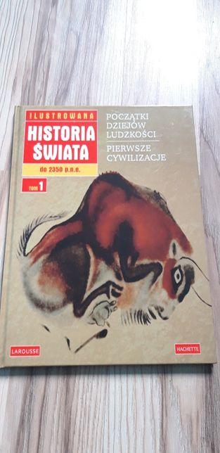 Książka Historia Świata Początki dziejów Ludzkości