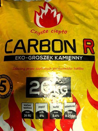 40 sztuk Ekogroszku Carbon R 26 MJ/kg [20kg]