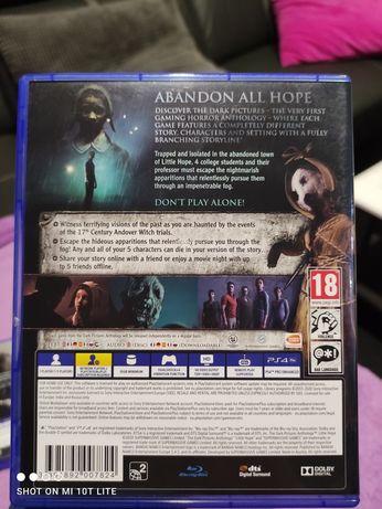 Gry PS4 God Of War i Little Hope