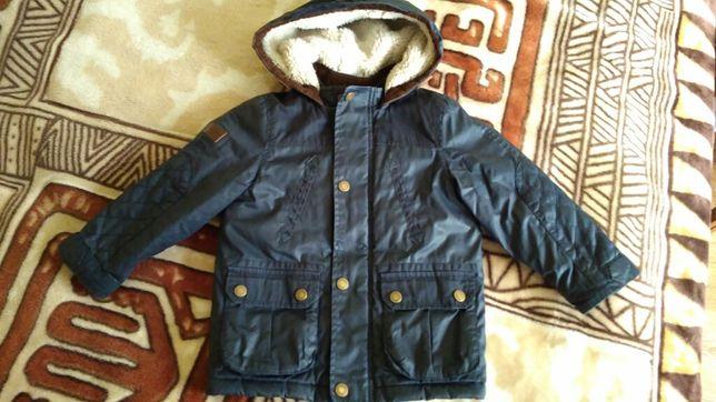 Куртка курточка парка осень-весна на 3-4 года