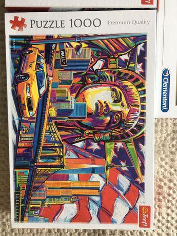 Puzzle trefl 1000, 2000