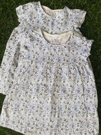 Sukienki, tuniki F&F bliźniaczki, po bliźniaczkach, dla bliźniaczek