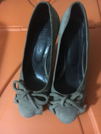 Sapatos em pele da Pablo Fuster (GLOBE)