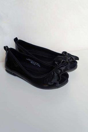 Czarne baleriny sandały HM - 31