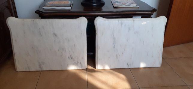 3 pedras mármores para cómoda e mesinhas de cabeceira