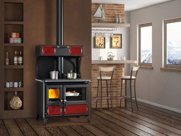 Kuchnia na drewno, piec kuchenny, westfalka.