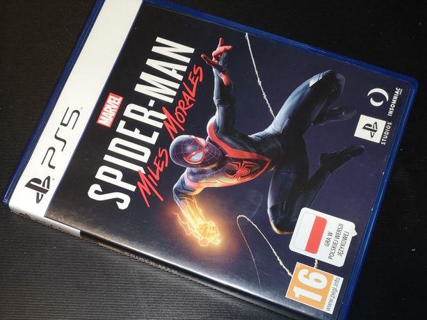 Spider-Man Miles Morales Gra PS5 sklep Ursus (możliwość wymiany)