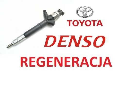 REGENERACJA Wtryski DENSO wtryskiwacz Toyota Avensis 2.0D4D 23670-xx