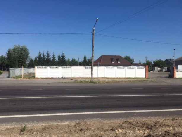 Продається земельна ділянка 0.0914 га в с. Вишнів