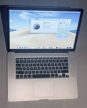 "Apple MacBook Pro 15 ""Haswell/Crystalwell"" 2.6 (4960 HQ) 2014г 120цик"