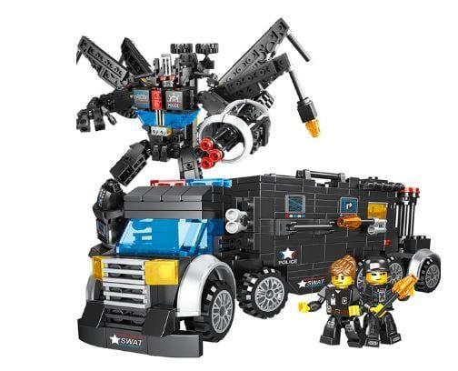Klocki konstrukcyjne typu LEGO