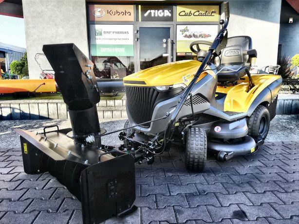 traktorek kosiarka Stiga ESTATE 7122 HWS + odśnieżarka wirnikowa + PTO