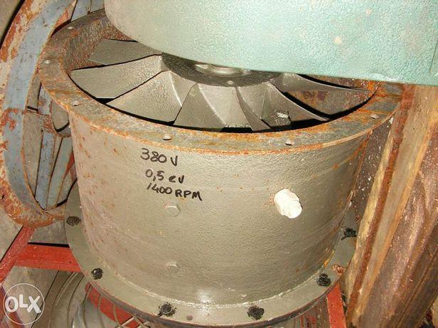 Ventilador, exaustor, extrator de fumos. 220 e 380 Volt. Vários.