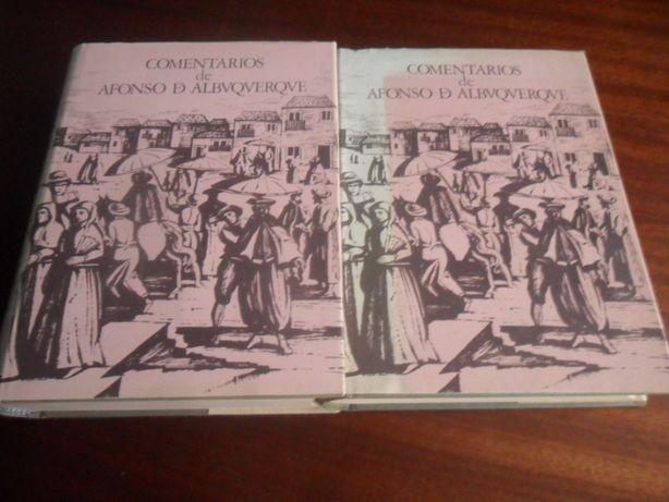 """""""Comentários de Afonso de Albuquerque"""" 2 Vol. de Afonso de Albuquerque"""