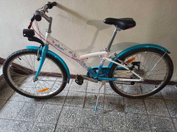 "rower b Twin  24 "" biało morski"