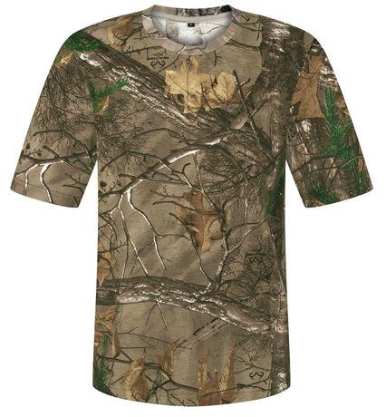 T-shirt koszulka wędkarska, myśliwska, leśne camo realtree XL