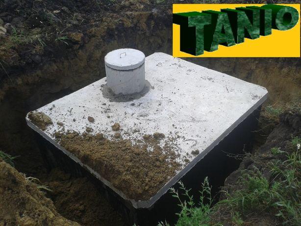 tani zbiornik 4m3 gwarancja atest szambo betonowe