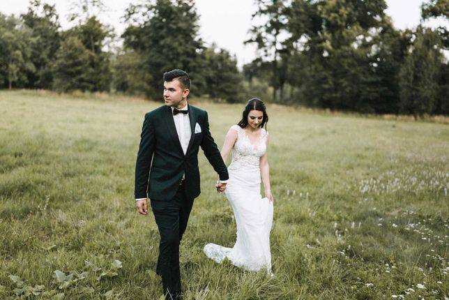 Suknia ślubna, IVORY, rozmiar S