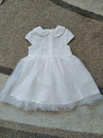 Biała sukienka - chrzest