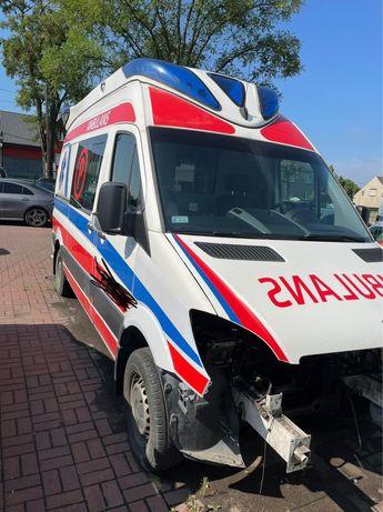 Ambulans Mercedes Sprinter 906 bez silnika