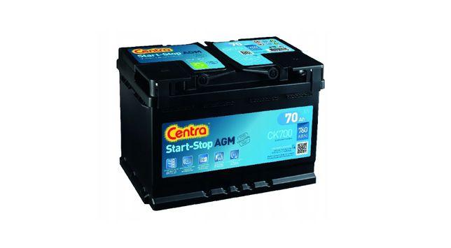 Akumulator 12V-70AH 760A Centra start stop , P+ , AMG Gat 1 ,