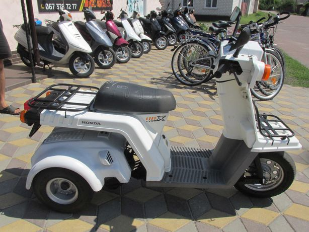 Скутер,мопед Honda Guro X трехколесный Хонда