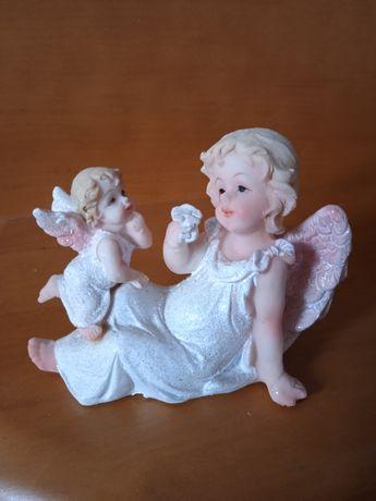 Figurka  dwa aniołki