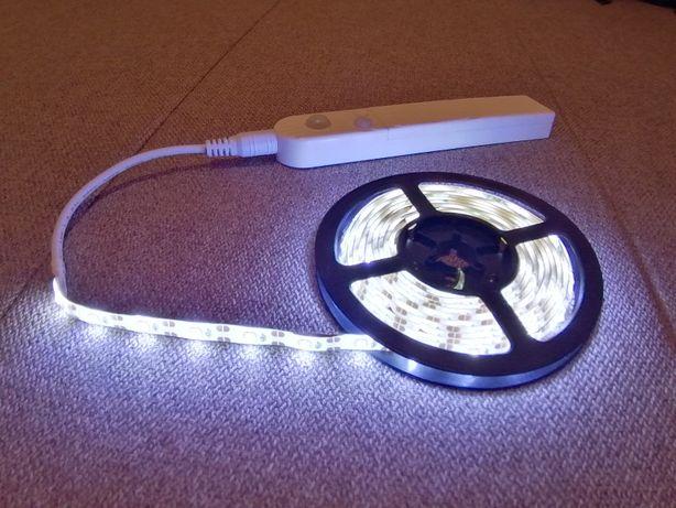 LED подсветка (светодиодная лента) с датчиком движения. IP65 PIR STRIP