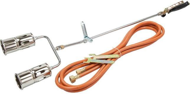 Palnik dekarski do papy opalania gazowy 2 dysze (ROL43)