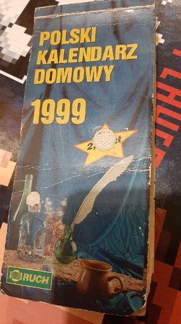 Kalendarz ździerak 1999