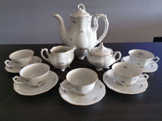 Serwis kawowy porcelana-KAROLINA