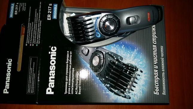 НОВАЯ Машинка для стрижки волос Panasonic ER-217 washable