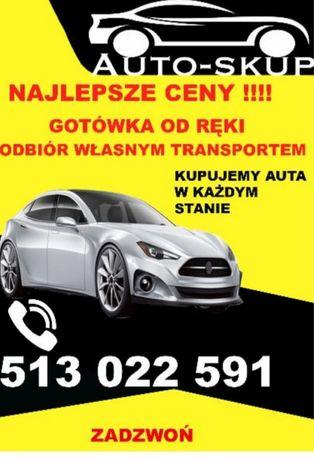 Skup aut odbiór własnym transportem płacimy najlepsze ceny 24h.