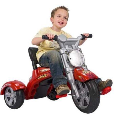 Triciclo chopper trike tribike criança Feber