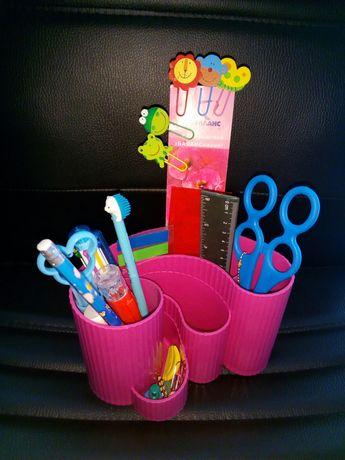 Подставка, стакан, пенал, лоток для ручек и карандашей