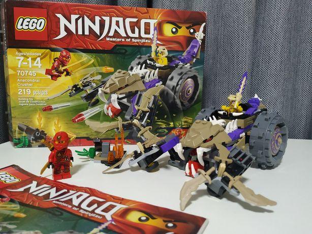 Lego Ninjago 70745 разрушитель клана Анакондрай