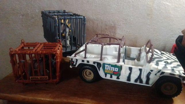 bonecos de Dino Quest rescue mission